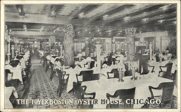Boston Oyster House - The Foyer Chicago Illinois