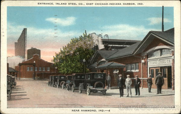 Entrance, Inland Steel Co., East Chicago-Indiana Harbor, Ind. Hammond
