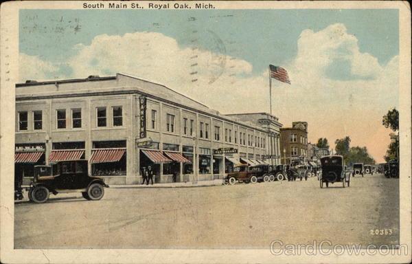 South Main St. Royal Oak Michigan