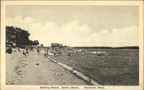 Bathing Beach, Swift's Beach Wareham Massachusetts