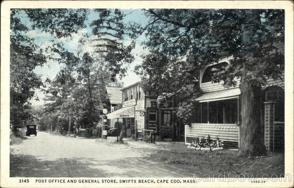Post Office and General Store, Swifts Beach Cape Cod Massachusetts