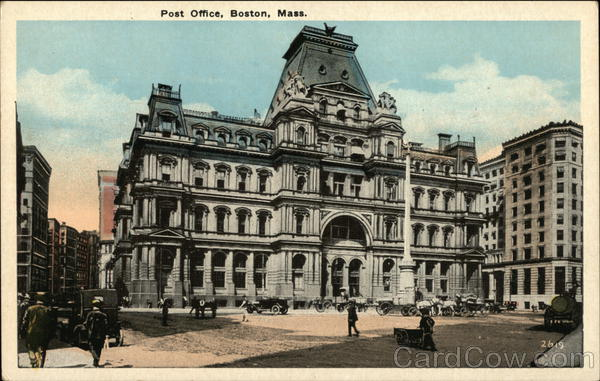 Post Office Boston Massachusetts