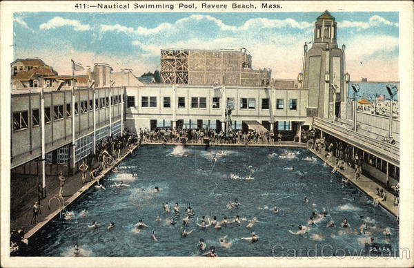 Nautical Swimming Pool Revere Beach Massachusetts