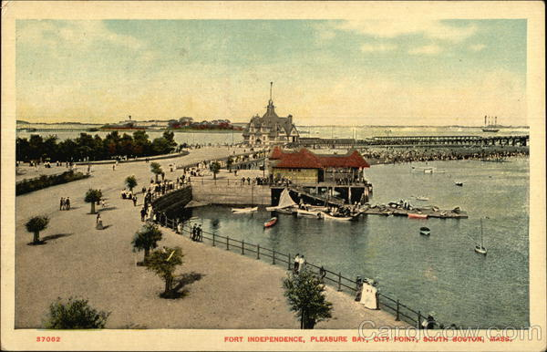 Fort Independence, Pleasure Bay, City Point Boston Massachusetts