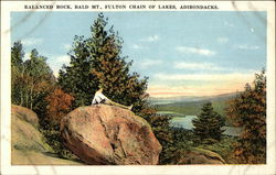 Balanced Rock, Bald Mountain, Fulton Chain of Lakes