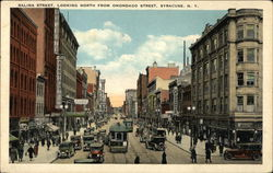 Salina Street, Looking North from Onondago Street