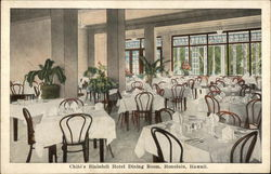 Child's Blaisdell Hotel Dining Room