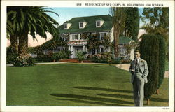 Residence of Syd Chaplin