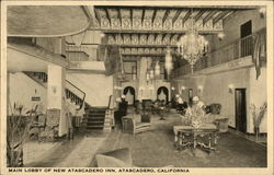 New Atascadero Inn - Main Lobby