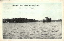 Knudtson's Point, Prairie Lake