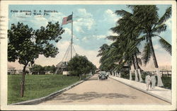 Palm Avenue, US Barracks
