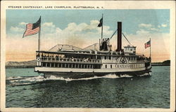 Steamer Chateaugay, Lake Champlain