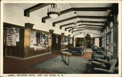 Lobby of the Meadows Hotel