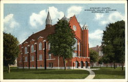 Stewart Chapel at Missouri Valley College Postcard