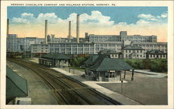 Hershey Chocolate Company and Railroad Station