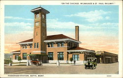 "Passenger Station - ""On the Chicago, Milwaukee & St Paul Railway"""