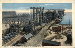 The C & O Ry Company's New Coal Pier No 9