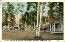 Cottages and Theatre at Lakewood Park