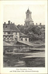 Eliot Dormitory Tower and Weld Boat Club, Harvard University