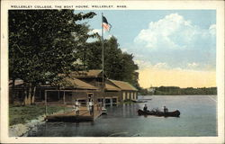 Wellesley College - The Boat House