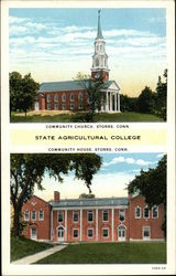 State Agricultural College - Community Church and House