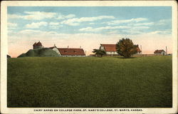 Dairy Barns on College Farm, St Mary's College