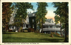 Baltimore Country Club, Roland Park