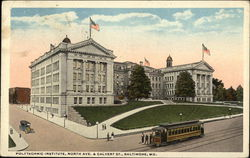 Polytechnic Institute, North Avenue and Calvert Street