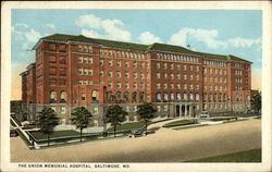 Street View of Union Memorial Hospital