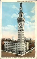 Bromo Seltzer Tower Building, North East Corner Eutaw and Lombard Streets
