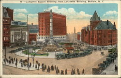 Lafayette Square, showing New Lafayette Building
