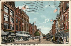 West Market Street, from Center Square