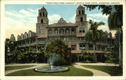 """Greetings from Jamaica"" - Myrtle Bank Hotel"