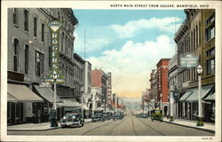 North Main Street from Square