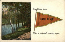 Greetings from Craig Beach