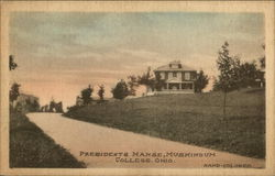 Presidents Manse, Muskingum College