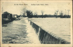 At the Waste Weir, Indian Lake Park