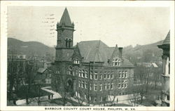 Barbour County Court House Postcard