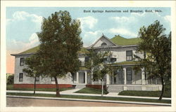 Enid Springs Sanitorium and Hospital