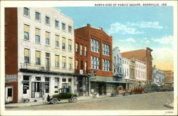 North Side of Public Square Postcard
