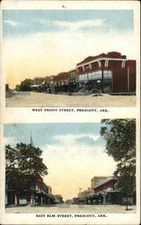 Views of West Front and East Elm Streets