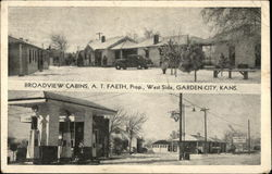 Broadview Cabins - AT Faeth Proprietor - West Side Postcard