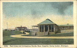 Red Cross and Contagious Wards, Base Hospital