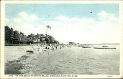 On the Beach at Swifts Beach, Cape Cod