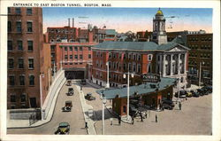 Entrance to East Boston Tunnel