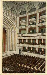 Interior View of New Boston Opera House