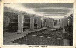 Loew's Orpheum Club Room - The Handsomest Theatre in the World