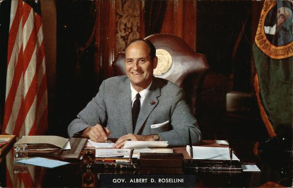 Governor Albert D. Rosellini Political