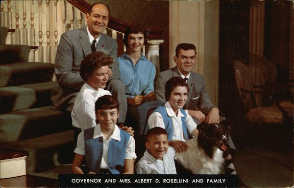 Governor Albert D. Rosellini and Family Political