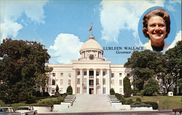 Lurleen Wallace, Governor of Alabama Montgomery Political